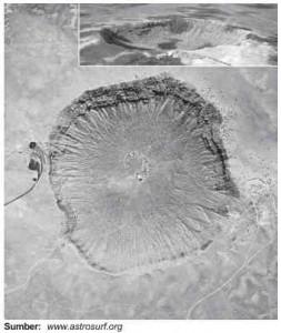Meteor dan kawah arizona